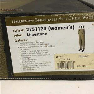 Toggs Hellbender breathable chest wader